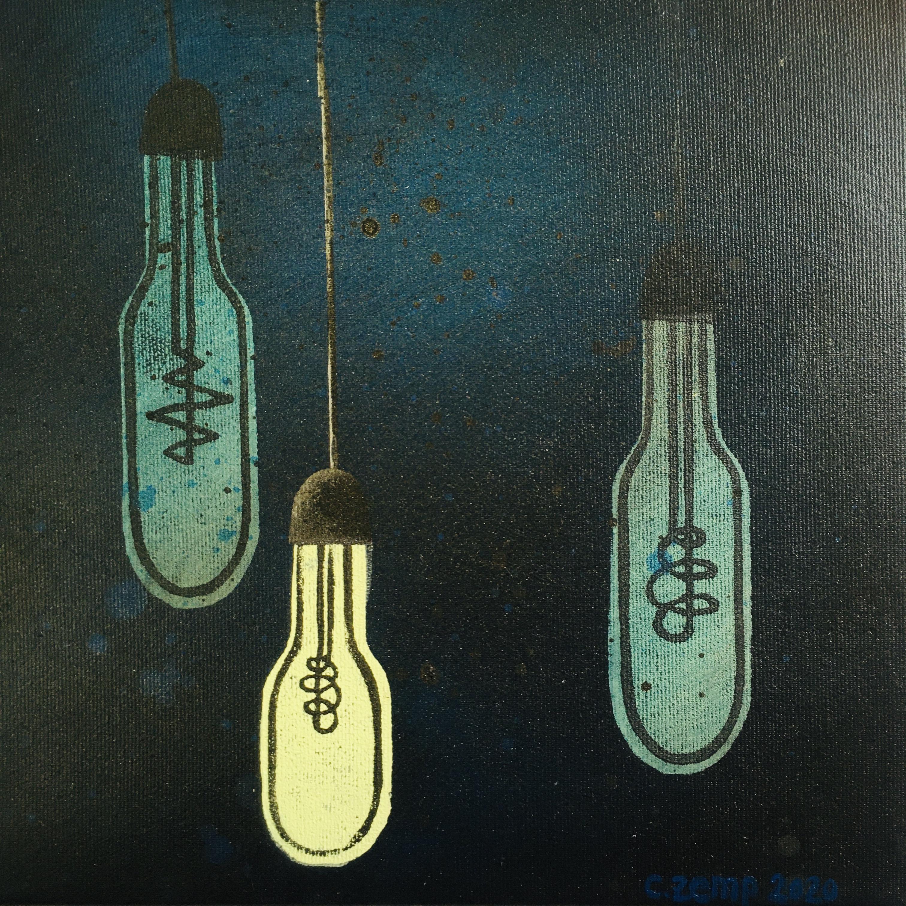 blauLICHT (Verkauft / Sold)